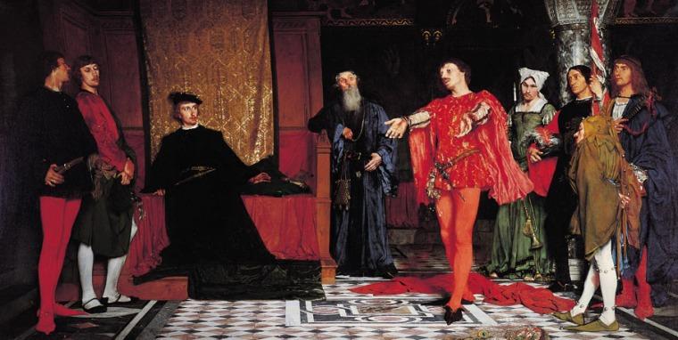 hamlet_Czachórski_Actors_before_Hamlet_1875